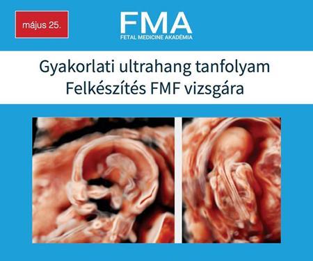 Gyakorlati ultrahang tanfolyam - Felkészítés FMF vizsgára 2017. május 25. -