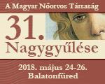 Magyar Nőorvos Társaság, 31. Nagygyűlése