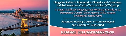 Magyar Szülészeti-Nőgyógyászati Ultrahang Társaság és az International Ovarium Tumor Analysis (IOTA) csoport Továbbképző Tanfolyama  -