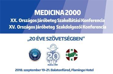 XX. Országos Járóbeteg Szakellátási és XV. Országos Járóbeteg Szakdolgozói Konferencia -
