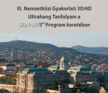 III. Nemzetközi Gyakorlati 3D / 4D Ultrahang Tanfolyam -
